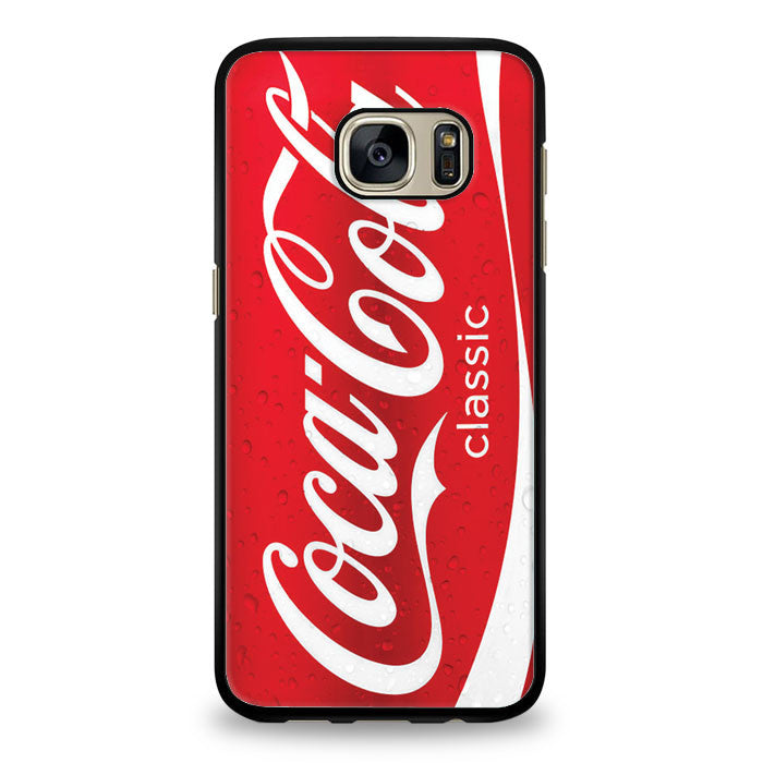 Coca Cola Red Can Samsung Galaxy S6 Edge Case | yukitacase.com
