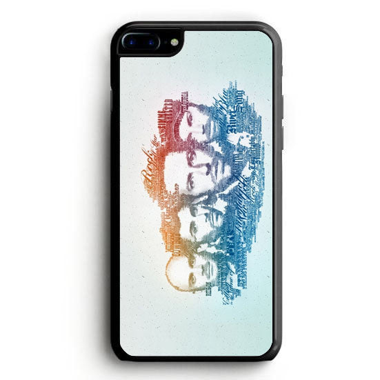 Coldplay Faces Lyrics Design iPhone 6 Case | yukitacase.com
