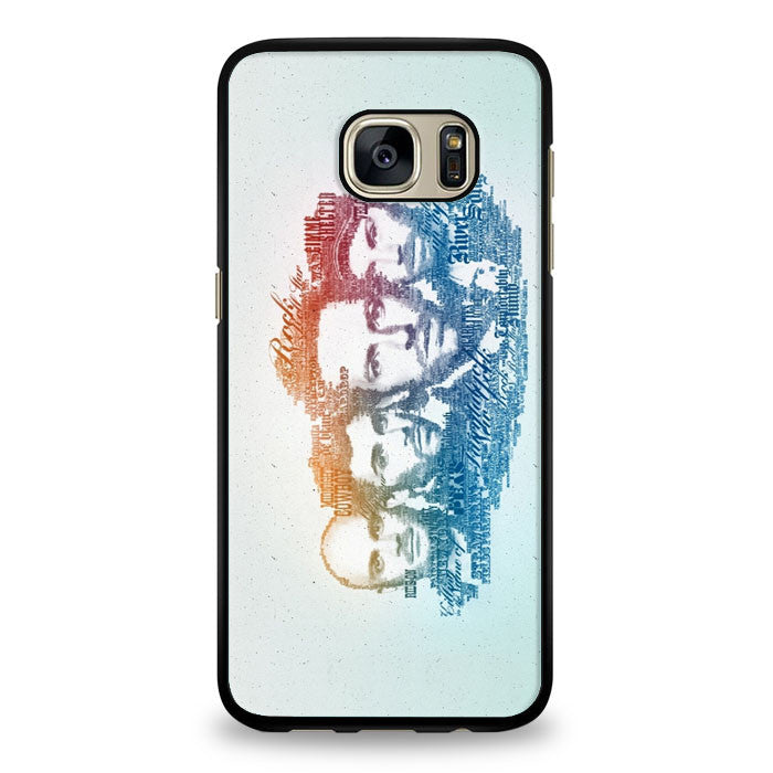 Coldplay Faces Lyrics Design Samsung Galaxy S6 Case | yukitacase.com