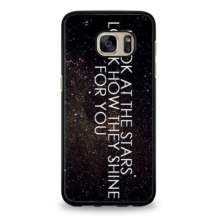 Coldplay the scientist quotes Samsung Galaxy S6 Case | yukitacase.com
