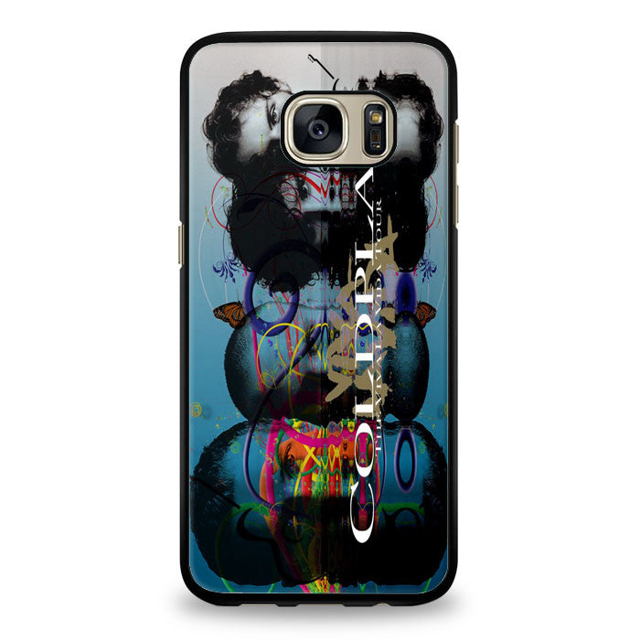 Coldplay VivaLaVida Tour Cover Samsung Galaxy S6 Case | yukitacase.com
