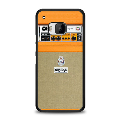 Retro Orange Guitar Electric Amp HTC One M9 | yukitacase.com