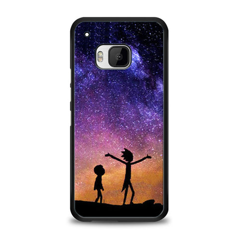 Rick and Morty Space Nebula HTC One M9 | yukitacase.com