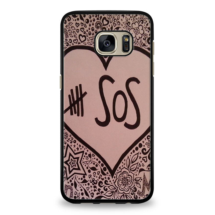 Colorful 5SOS Quote Samsung Galaxy S7 Edge Case | yukitacase.com