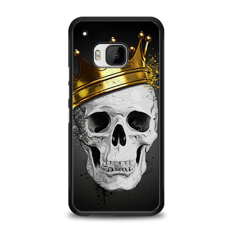 Royal Skull HTC One M9 | yukitacase.com