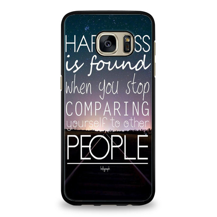 ColorHappiness QUOTE IPHONE CASES Inspiration Love Text Samsung Galaxy S6 Case | yukitacase.com