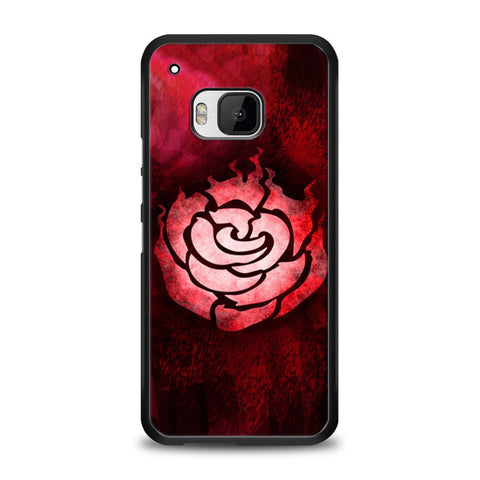 RWBY Ruby Rose Symbol HTC One M9 | yukitacase.com