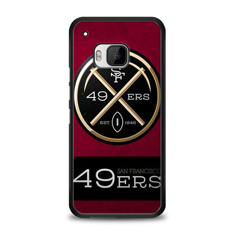 San Francisco 49ers HTC One M9 | yukitacase.com