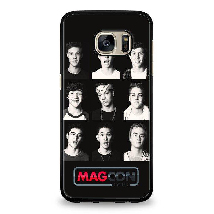 Cool Magcon Boys Collage Samsung Galaxy S6 Edge Plus Case | yukitacase.com