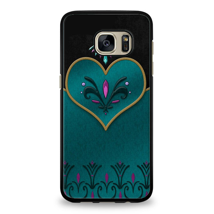 Coronation Elsa Cover Samsung Galaxy S7 Edge Case | yukitacase.com
