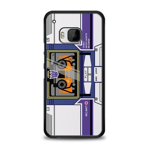 Soundwave Transformers Casette HTC One M9 | yukitacase.com