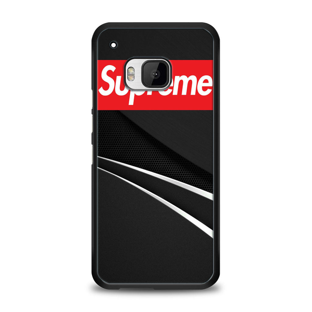 Supreme in Black HTC One M9 | yukitacase.com