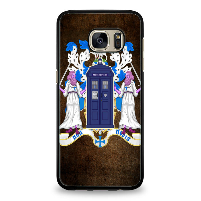 crest of the knight of fandom dr who Samsung Galaxy S6 Edge Case | yukitacase.com