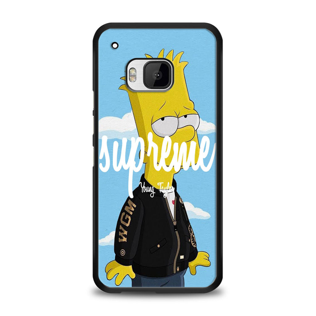 Supreme Simpson HTC One M9 | yukitacase.com