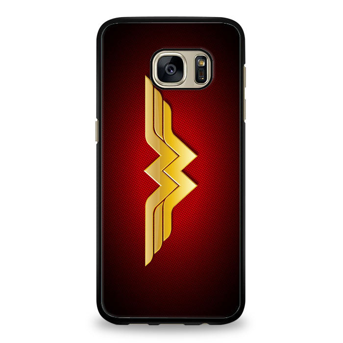 DC Comics Superhero Wonder Woman Logo Samsung Galaxy S6 Edge Plus Case | yukitacase.com
