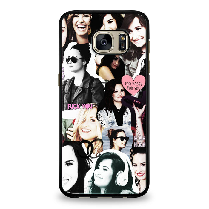 Demi Lovato collage Samsung Galaxy S6 Case | yukitacase.com
