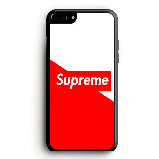 supreme red white background iphone 6 case yukitacase. Black Bedroom Furniture Sets. Home Design Ideas