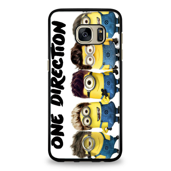 Despicable Me in One Direction Samsung Galaxy S7 Edge Case | yukitacase.com