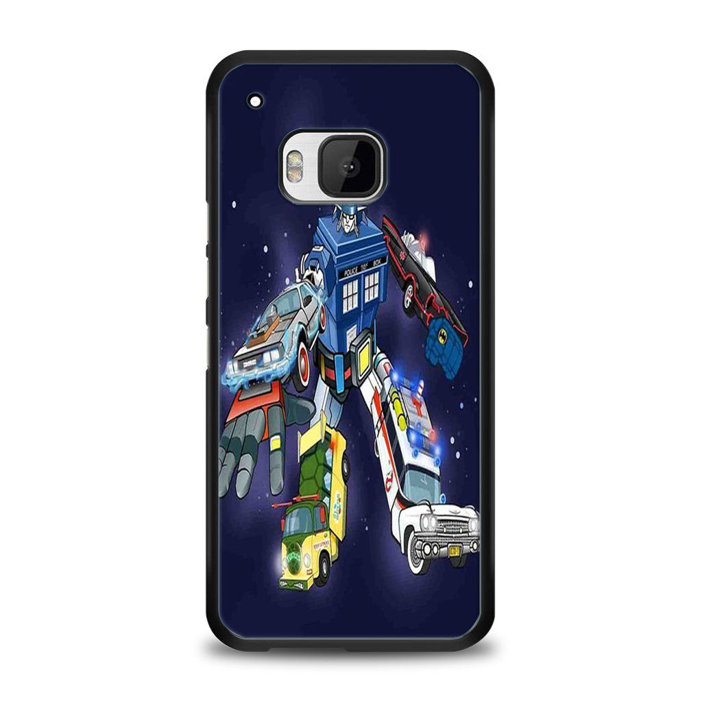Voltron Legendary Defender Dr Who HTC One M9 | yukitacase.com