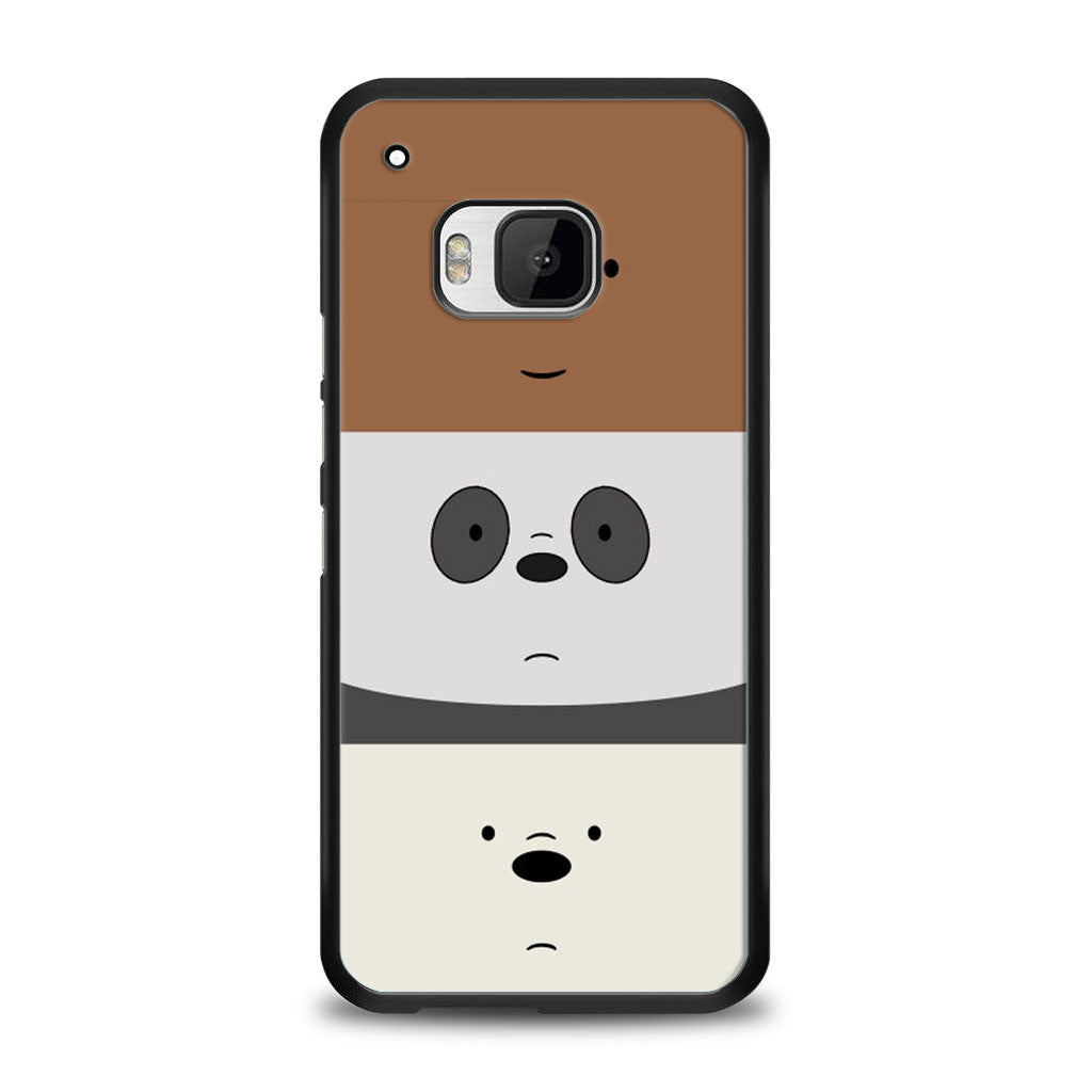 We Bare Bears HTC One M9 | yukitacase.com