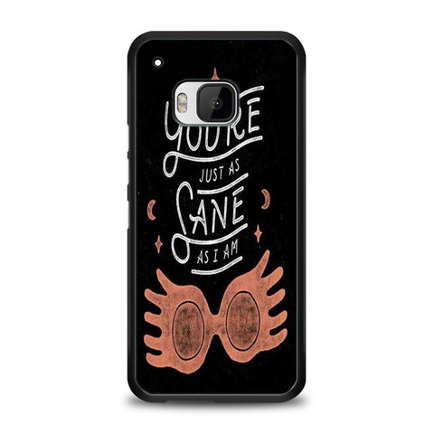 You're Just as Sane as I am Harry Potter HTC One M9 | yukitacase.com