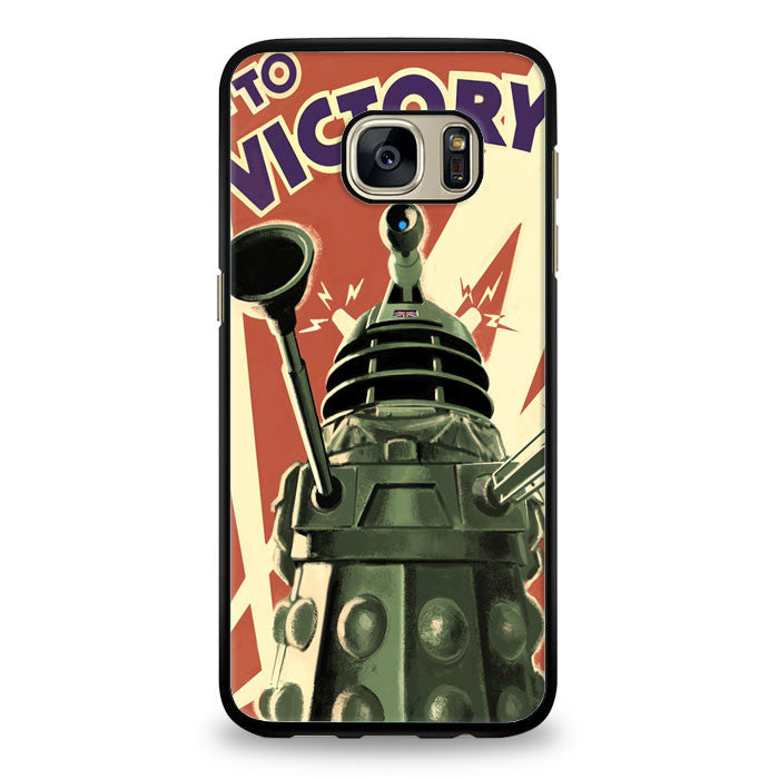 Doctor Who Daleks to victory Samsung Galaxy S6 Edge Case | yukitacase.com