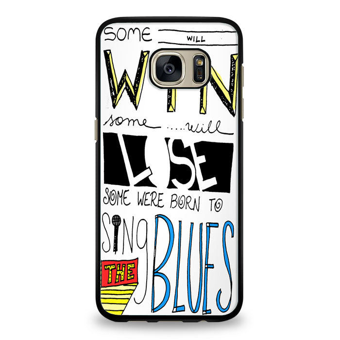 Don't Stop Believin' Lyric Cover Samsung Galaxy S6 Edge Case | yukitacase.com