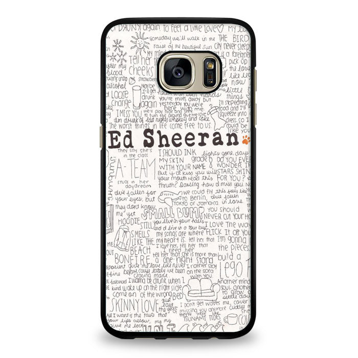 ed sheeran tumblr Samsung Galaxy S7 Edge Case | yukitacase.com
