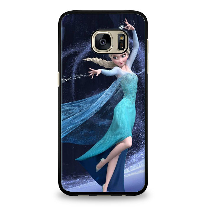 Elsa Princes Disney Frozen Samsung Galaxy S6 Edge Plus Case | yukitacase.com