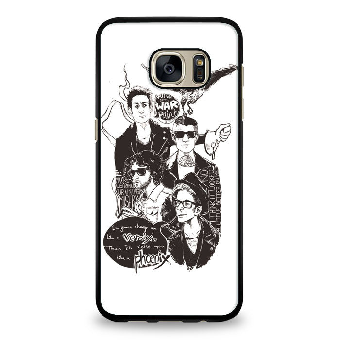 Fall Out Boy Lyric Cover Samsung Galaxy S6 Edge Case | yukitacase.com