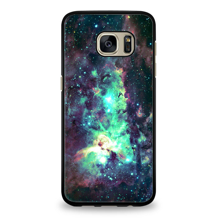 Galactic Emerald Nebula Space Case iPhone Case Samsung Galaxy S6 Case | yukitacase.com