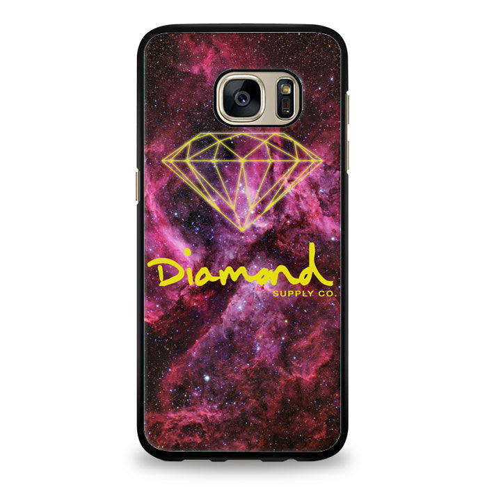 Galaxy Nebula Diamond Crocks Samsung Galaxy S6 Edge Case | yukitacase.com