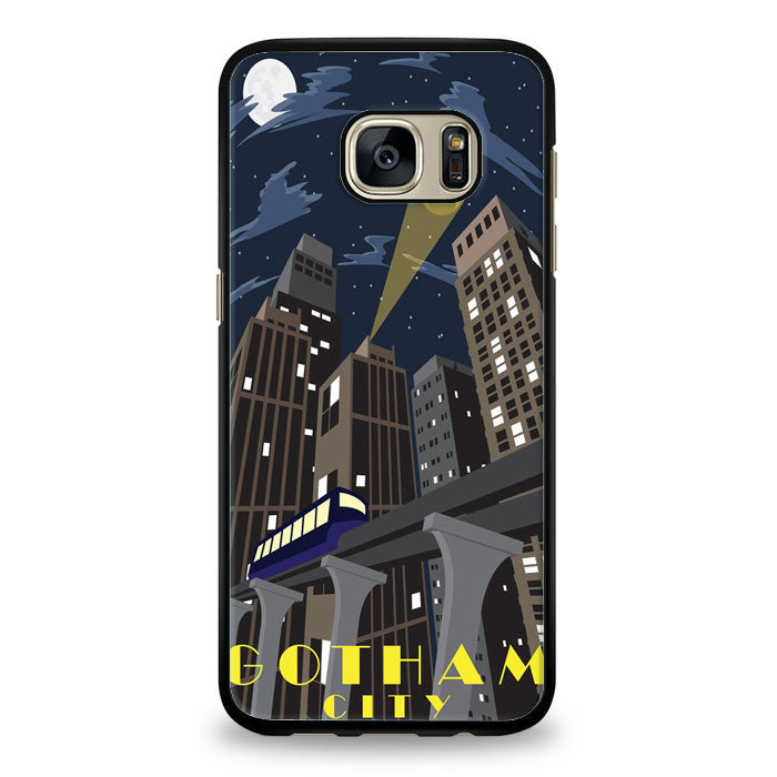 Gotham Batman City Samsung Galaxy S6 Edge Plus Case | yukitacase.com