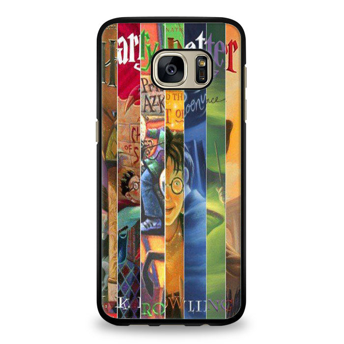 Harry Potter all books Samsung Galaxy S7 Edge Case | yukitacase.com