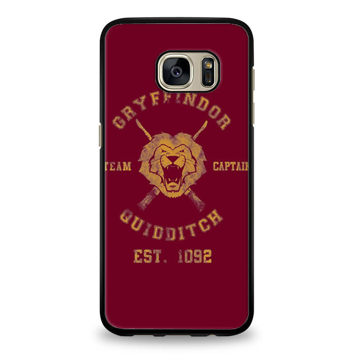 harry potter gryffindor quidditch team captain Samsung Galaxy S7 Edge Case | yukitacase.com