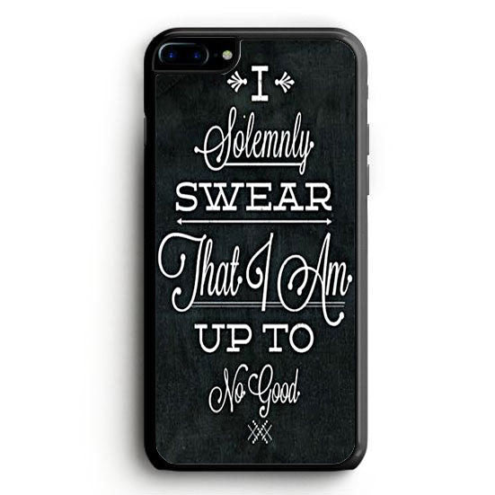 Harry Potter quote - I Solemnly Swear That I Am Up To No Good iPhone 6 Case | yukitacase.com