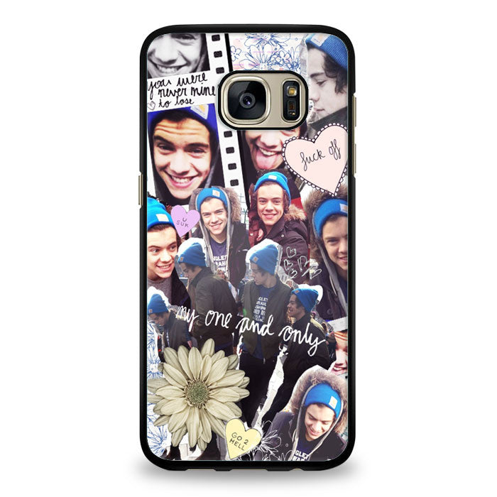 Harry Styles 'I Got A Dirty Mouth' design Samsung Galaxy S6 Edge Case | yukitacase.com