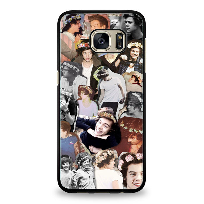 Harry Styles black and white Samsung Galaxy S6 Edge Case | yukitacase.com