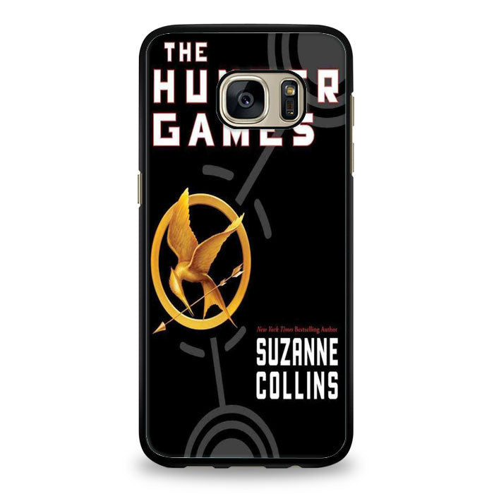 Hunger Game Hope Quotes Sparkly Glitter Samsung Galaxy S7 Edge Case | yukitacase.com