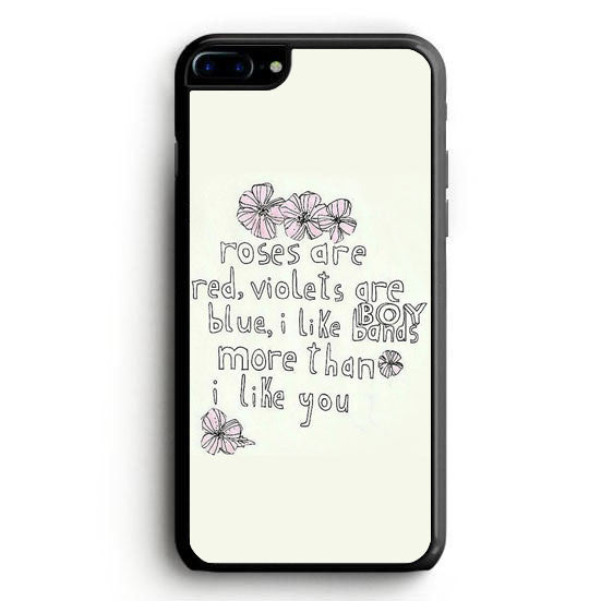 I Like Bands More Than I Like You iPhone 6 Case | yukitacase.com