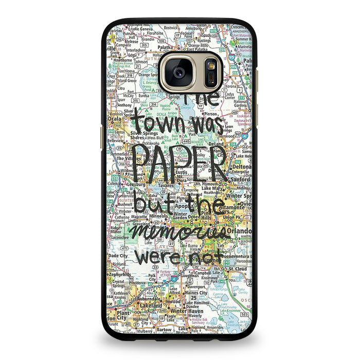 John Green Paper Towns Quotes Cover Samsung Galaxy S6 Case | yukitacase.com