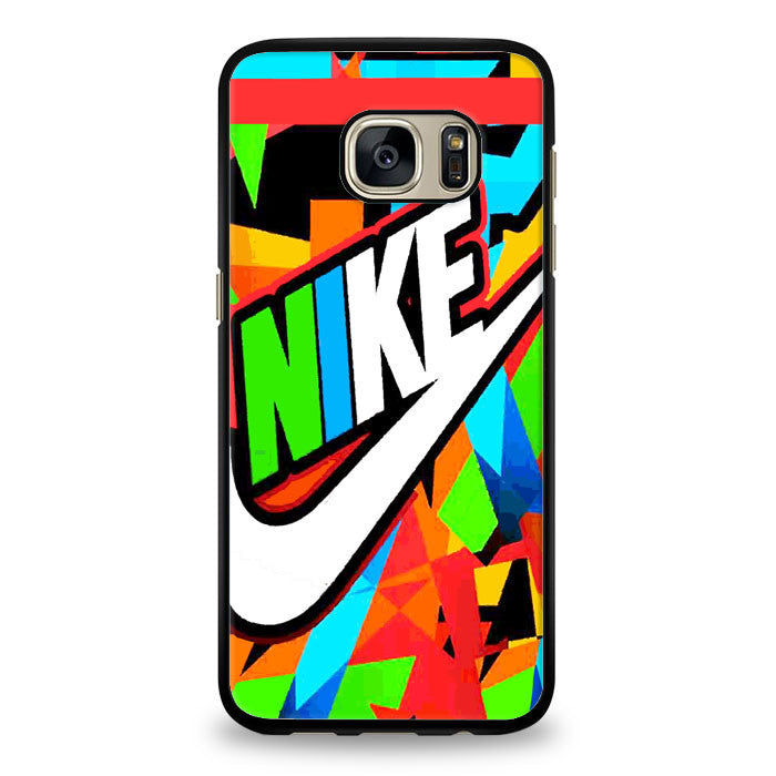 Just Do It Nike Full Color Samsung Galaxy S6 Edge Case | yukitacase.com