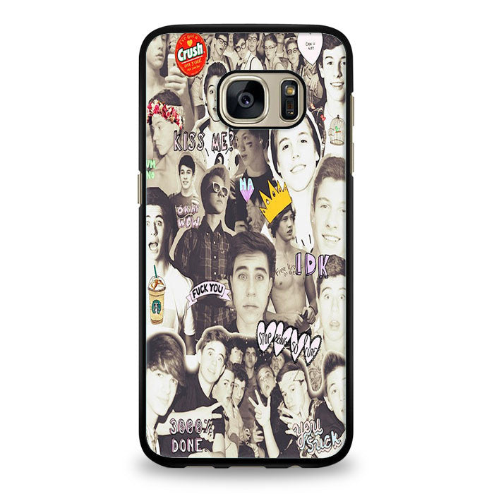 Magcon Boys Collage Samsung Galaxy S6 Edge Plus Case | yukitacase.com