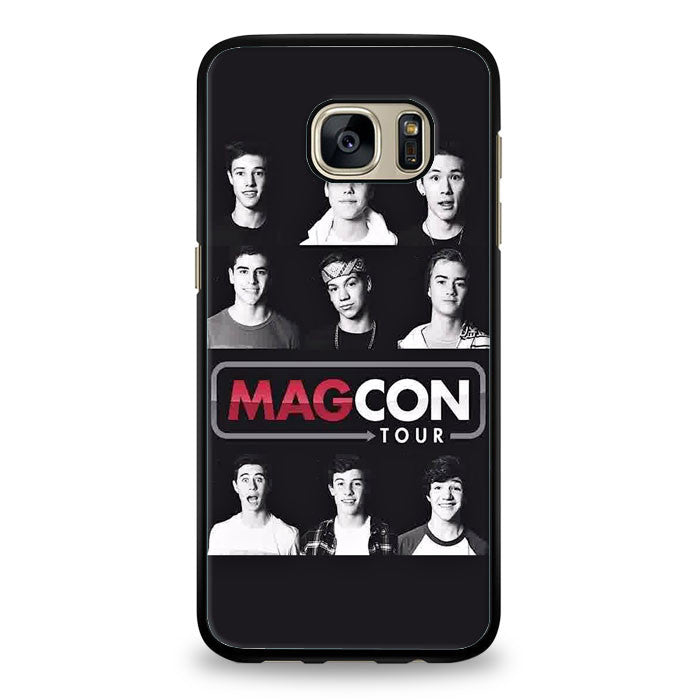 Magcon Face fitted Samsung Galaxy S7 Edge Case | yukitacase.com