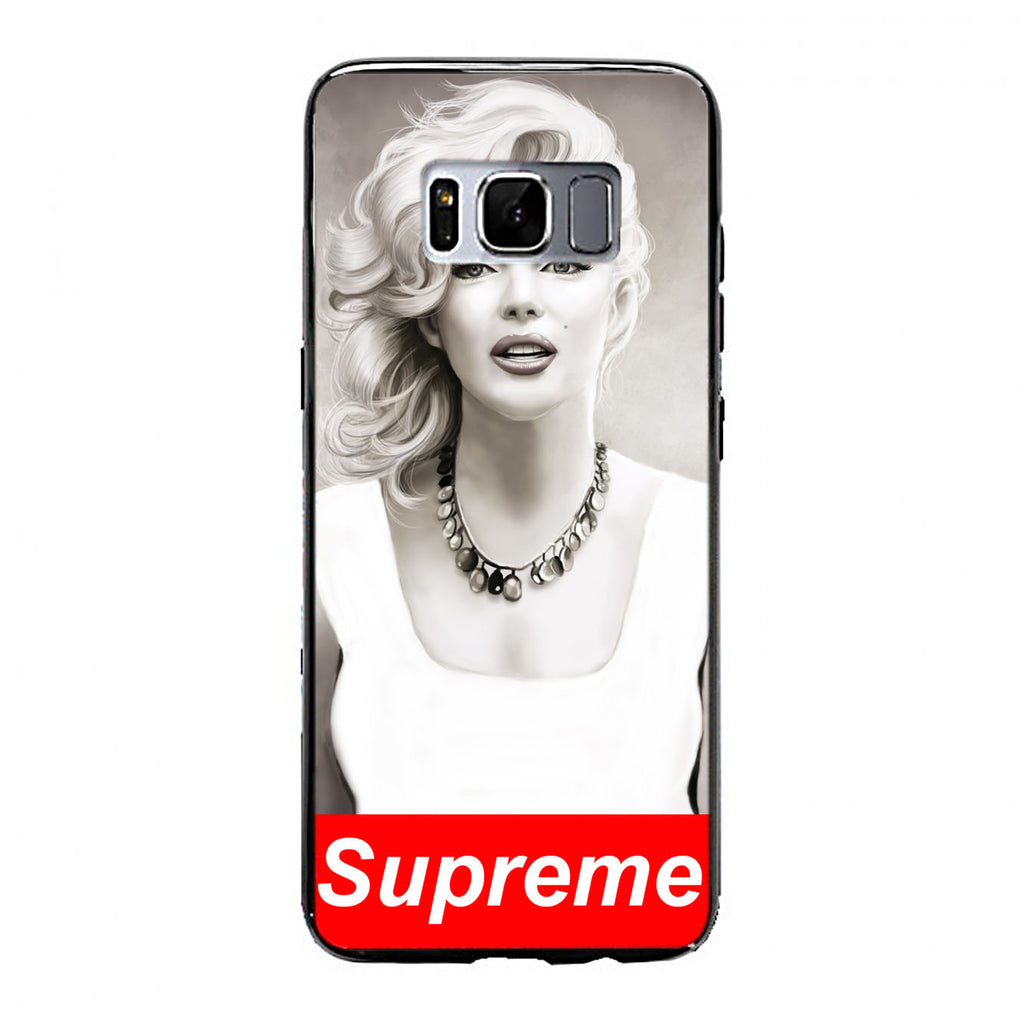 marilyn monroe supreme design Samsung Galaxy S8 Plus Case | yukitacase.com