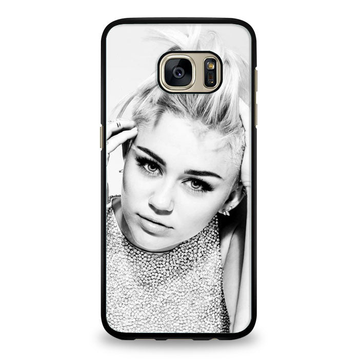 Miley Cyrus Bad Bitch Samsung Galaxy S7 Edge Case | yukitacase.com