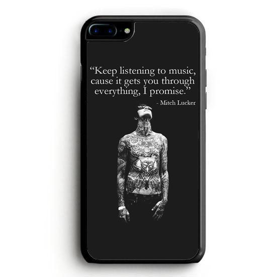 Mitch Adam Lucker Quote iPhone 6 Case | yukitacase.com
