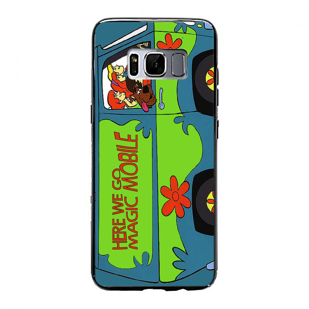 Mystery Machine Van Scooby Doo Samsung Galaxy S8 Plus Case | yukitacase.com