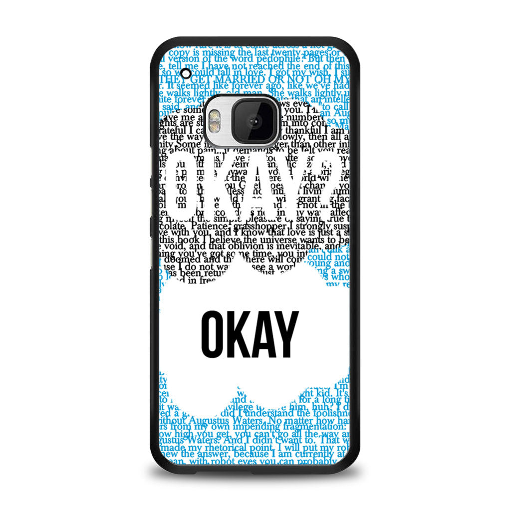 Okay Okay John Green The Fault In The Stars Samsung Galaxy S6 Case | yukitacase.com