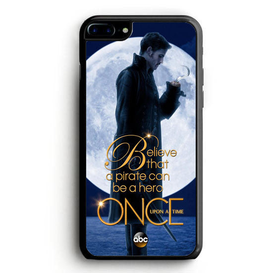 Once Upon a Time Captain Hook Believe iPhone 6 Case | yukitacase.com